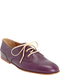 Zapatos oxford morado oscuro original 8534799