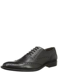 Zapatos oxford negros de DEL RE
