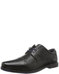 Zapatos oxford negros de s.Oliver