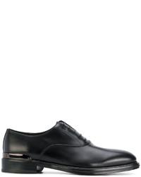 Zapatos Oxford Negros de Salvatore Ferragamo