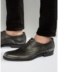 Zapatos Oxford Plateados de Hugo Boss
