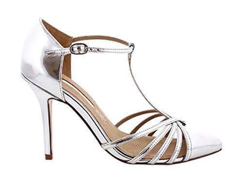 Zapatos plateado formales MARIA MARE para mujer 5WdPk2